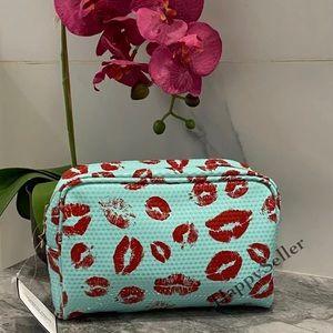 Love Kisses Pouch Makeup Organizer Case Bag Kit